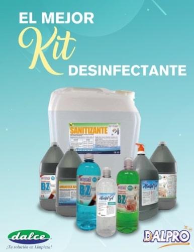 El mejor kit desinfectante